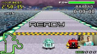 Let's Play F-Zero - MaxVelocity I Part 165 I die Standard-Crystal-Fire-Knight-Konfrontation