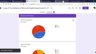 How to copy and paste charts from Google Forms to a Word document