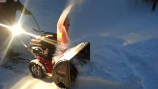 видео Снегоуборочная машина AL KO SNOWLINE 620E