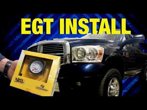 How To Install an AUTOMETER EGT Gauge - YouTube