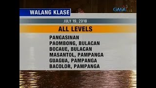 Saksi: Walang Pasok (July 19, 2018)