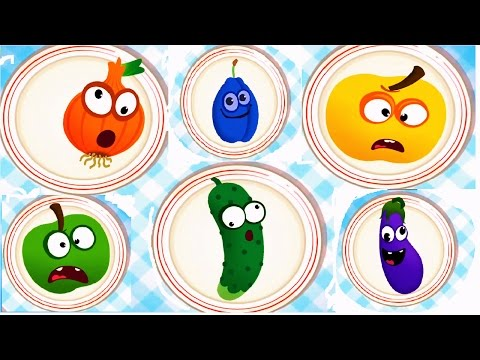 Thumbnail: Baby Play & Learn Names Of Fruits Vegetables With Funny Food Games
