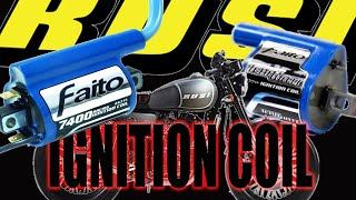 Faito Ignition Coil KINABIT in my CHINA bike - MotoVlog26