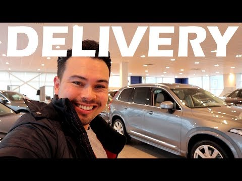 2018 Volvo XC90 T8 delivery!