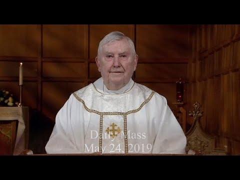Catholic Mass on YouTube | Daily TV Mass (Friday May 24 2019)