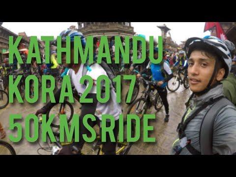 Kathmandu Kora 2017 - 50 Kms Ride