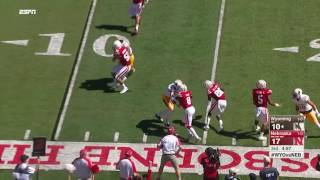 Blackshirts Get a TD on Kieron Williams Pick-Six vs. Wyoming