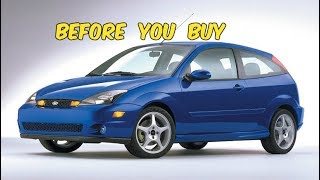 Watch This BEFORE You Buy a Ford Focus SVT!
