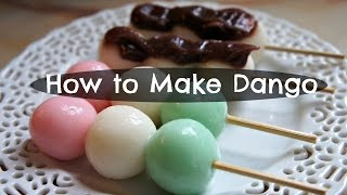 How to Make Dango - Andango & Hanami Recipe