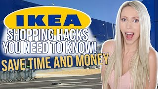 IKEA Shopping Hacks You NEED to Know!