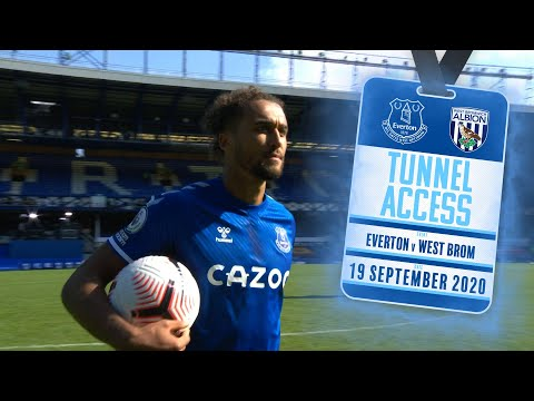 TUNNEL ACCESS: EVERTON V WEST BROM | BEHIND THE SCENES FOR JAMES RODRIGUEZ'S GOODISON DEBUT