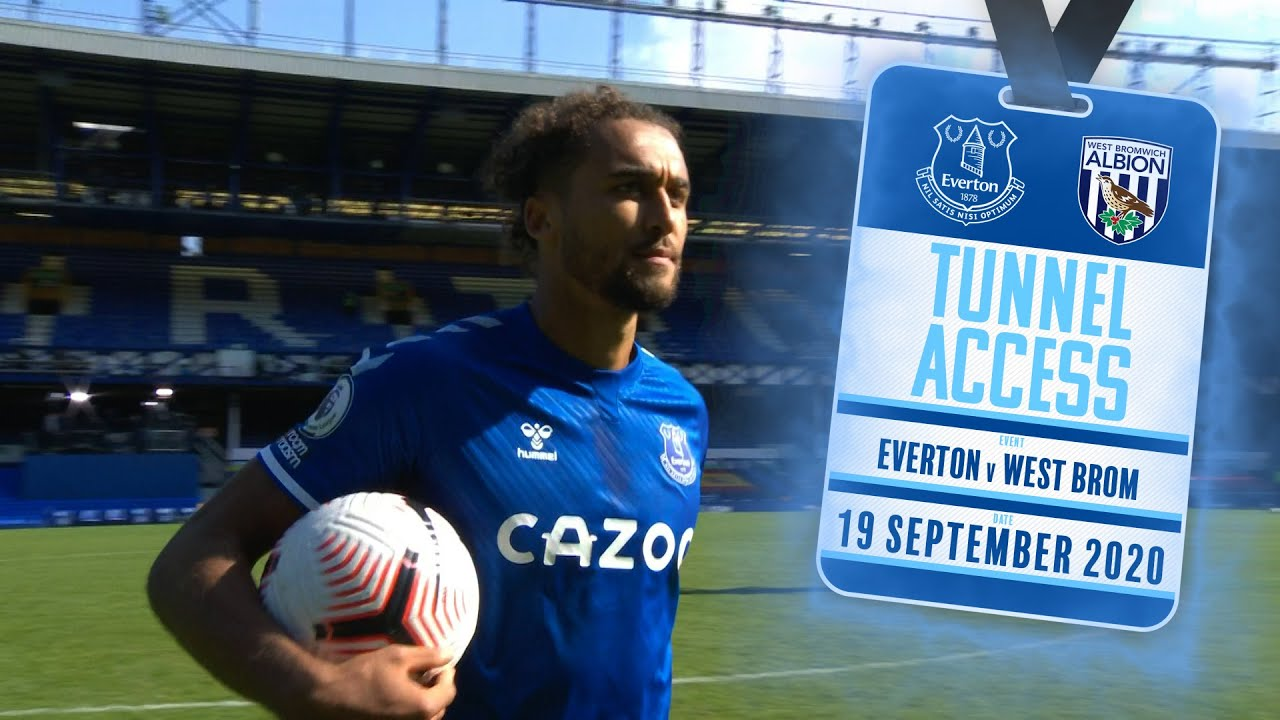 Download TUNNEL ACCESS: EVERTON V WEST BROM | BEHIND THE SCENES FOR JAMES RODRIGUEZ'S GOODISON DEBUT