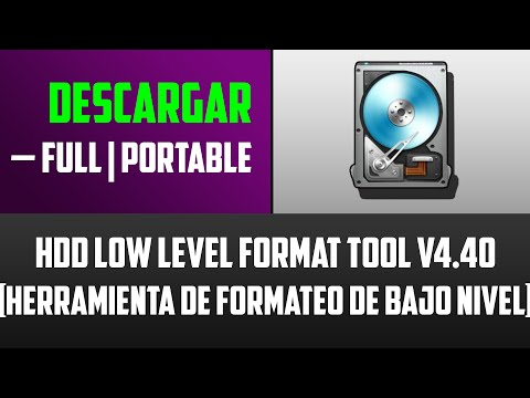 Descargar HDD Low Level Format Tool 4.40 [Full] [Portable]