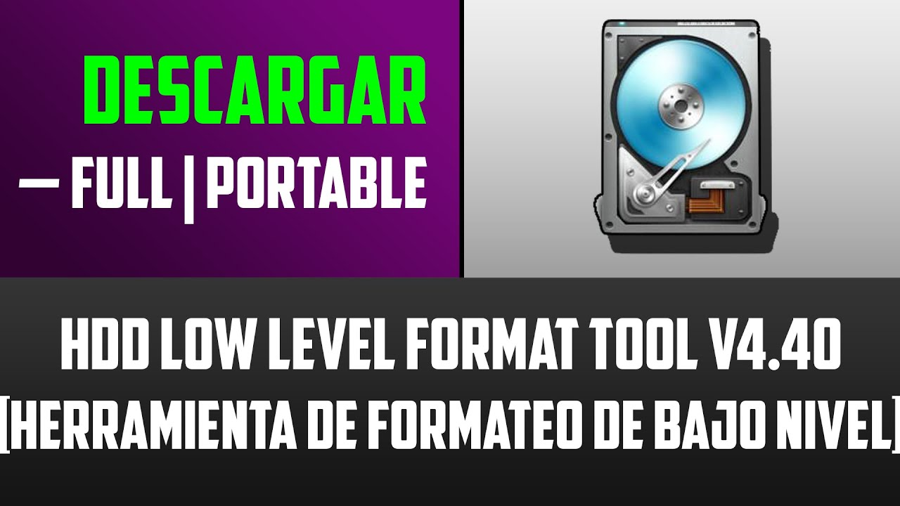 hdd low level format tool v4 12