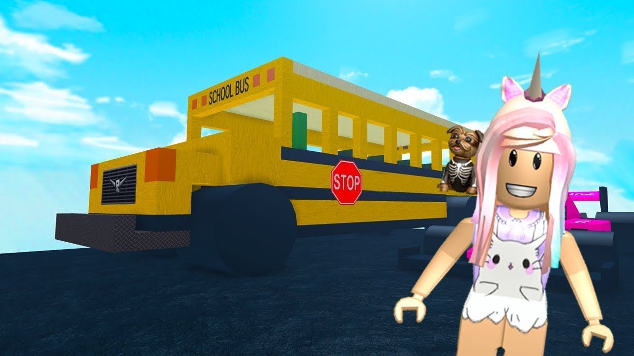 Roblox Get Eaten My School Bus Gets Eaten - roblox normal elevator getting squashed like a pancake