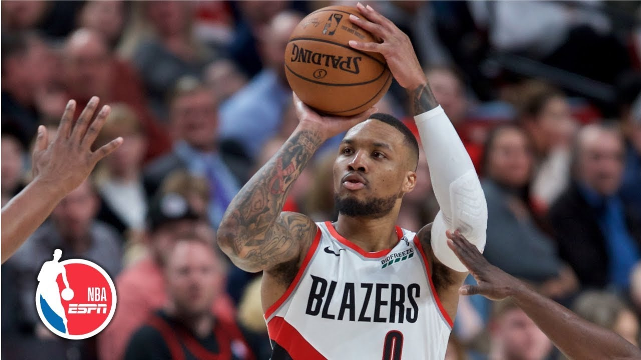 Damian Lillard gets 1st career 30-point, 15-assist game | Pacers vs. Trail Blazers | NBA Highlights