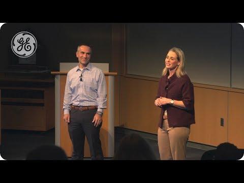 Tony and Katie Culic   GE Aviation's Purpose Talk series