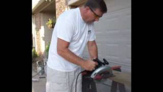 Wood Repair:  Water Damage:  Garage Trim Diy Carnival Custom Painting