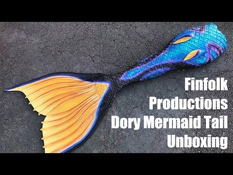 Dory Mermaid Tail Unboxing?! Finfolk Productions Perth Mermaids