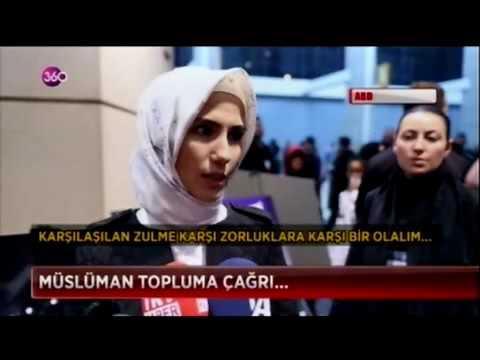 -360-  KADEM Başkan Yardımcısı Sümeyye Erdoğan Bayraktar Chicago'da konuştu
