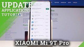 How to Update Apps in XIAOMI Mi 9T Pro - Install New App Version