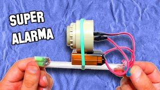 Alarma Casera Para Casa Antirrobo | homemade burglar alarm