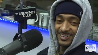 Nipsey Hussle at The Breakfast Club Power 105.1| Breakfast Club Classics