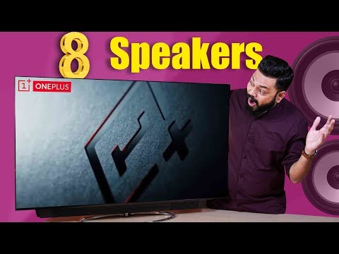 OnePlus TV Unboxing & First Look ⚡⚡⚡ The Best Audio & Display You Can Get On A Big Screen!