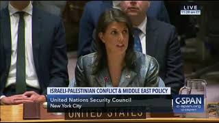 Nikki Haley Stuns At UN