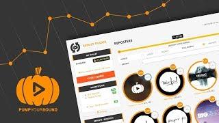 REPOST TRADER Tutorial | Pump Your Sound