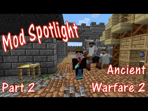Mod Spotlight - Ancient Warfare - Part 2 - YouTube