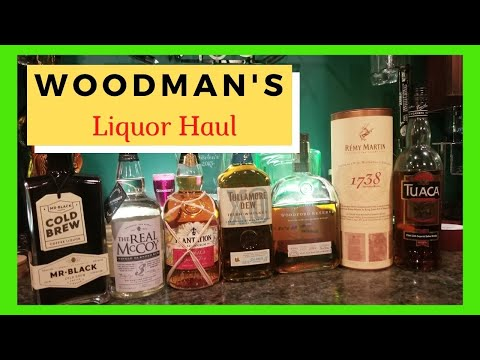 My Liquor Haul at Woodman's/It's all about the Cocktail/shelter at home with cocktails