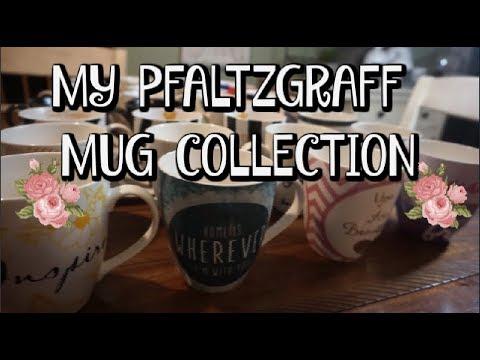MY PFALTZGRAFF MUG COLLECTION | Dollar Tree Finds!