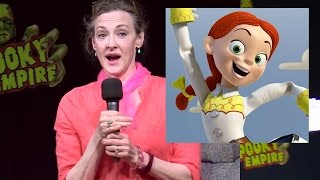 "Joan Cusack talks ""Toy Story"" / Jessie at Spooky Empire Retro 2017"