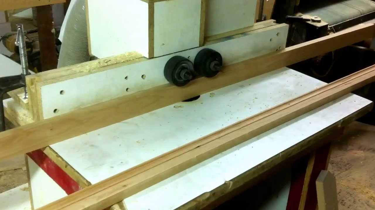 Router Power Feeder Diy 1 Youtube