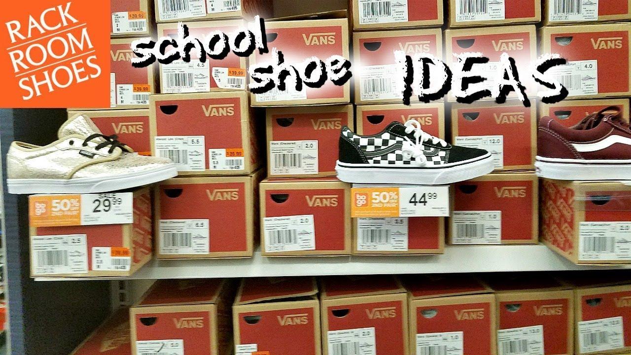 SHOP WITH ME RACK ROOM SHOES KIDS SCHOOL IDEAS JULY 2018