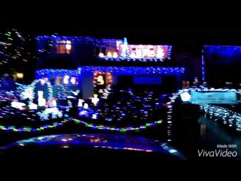 christmas lights pinewood close croydon starlight