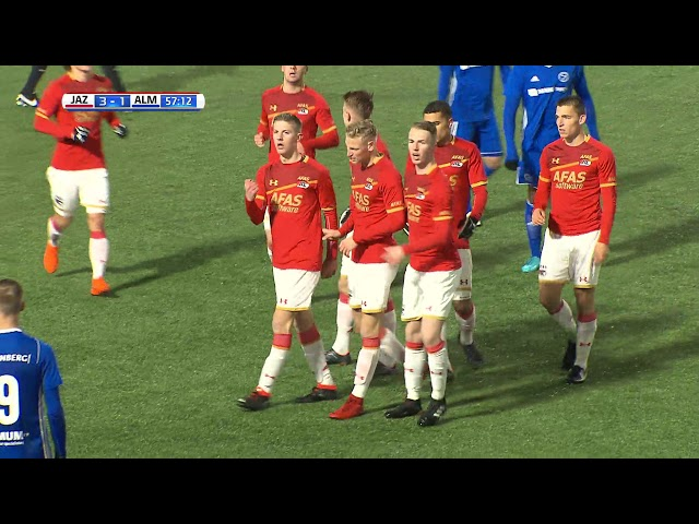 Samenvatting: Jong AZ Alkmaar - Almere City FC (4-1)