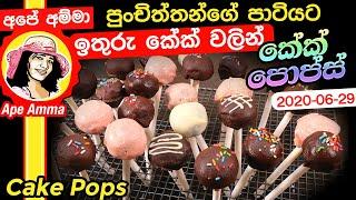 පචතතනග පටයට රසකවලලක (කක පපස) Party time Cake pops by Apé Amma