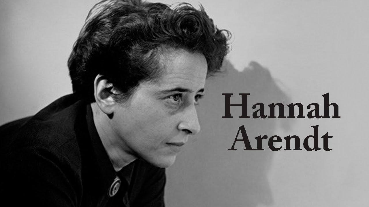 Classici della filosofia tedesca - Hannah Arendt - YouTube