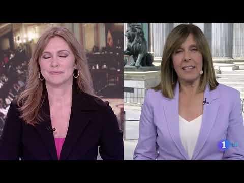 """Ana Blanco pide disculpas en el 'Telediario de TVE' por lo que se escuchó en pleno directo: """"Ha sido un lapsus"""""""