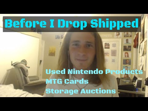 I Sold Nintendo Products and Storage Auction Finds on eBay before I discovered Drop Shipping