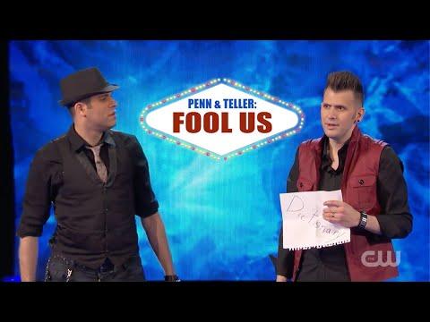 Penn & Teller Fool Us | Joel Meyers & Spidey