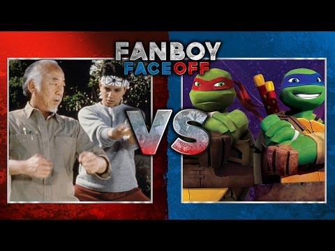 Teenage Mutant Ninja Turtles vs The Karate Kid: Fanboy Faceoff
