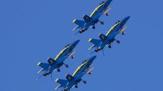 Blue Angels Fleet Week SF 2012 ブルー・エンジェルス フリートウィーク