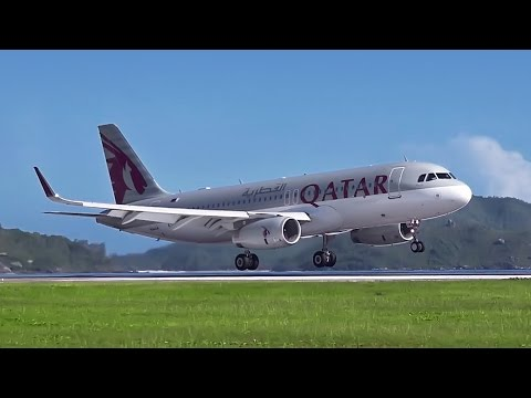 Qatar Airways Inaugural Flight to Seychelles