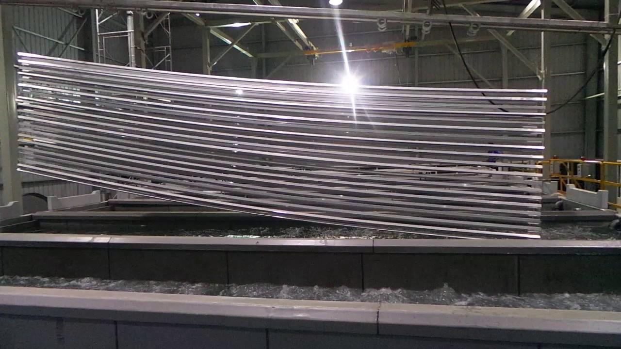 Dip Pre treatment plant for aluminium extrusions