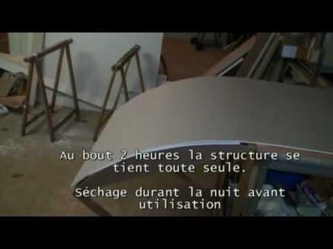 Cintrage du placoplatre par mouillage youtube - Comment faire du platre ...