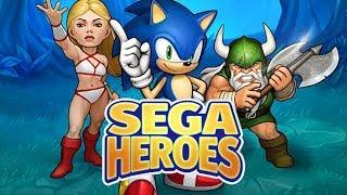 SEGA Heroes - Sonic Characters Gameplay