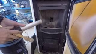 Cómo limpiar la estufa de pellets a diario